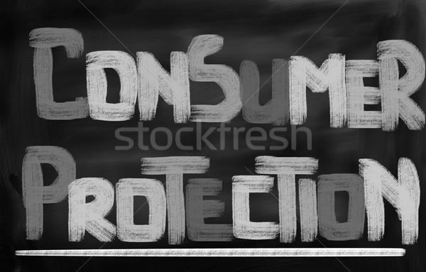 Customer Protection Concept Stock photo © KrasimiraNevenova