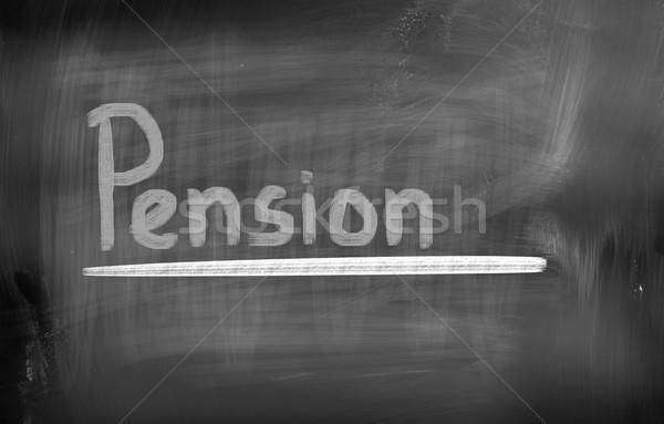 Pension Concept Stock photo © KrasimiraNevenova