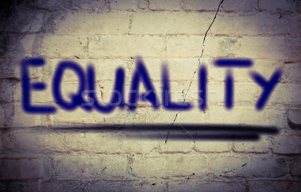Equality Concept Stock photo © KrasimiraNevenova