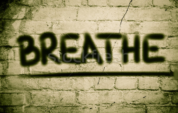Stock photo: Breathe Concept