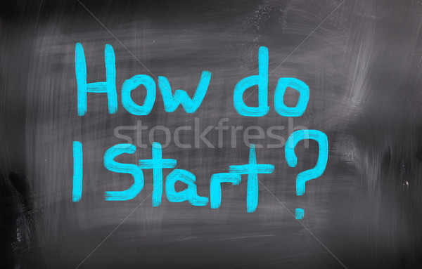 új élet levél segítség állás siker marketing Stock fotó © KrasimiraNevenova