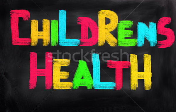 Childrens Health Concept Stock photo © KrasimiraNevenova