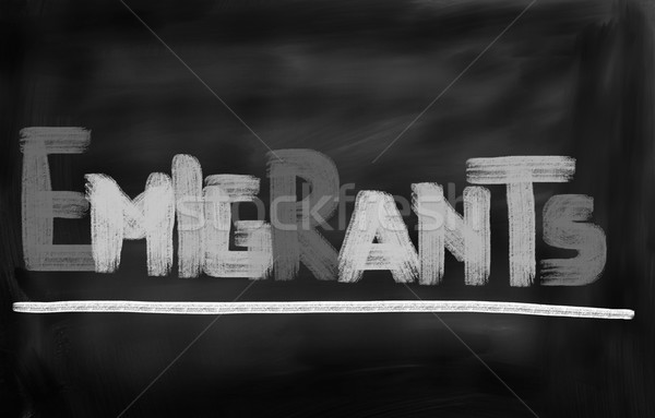 Migration Concept Stock photo © KrasimiraNevenova