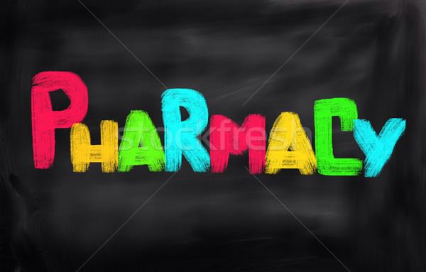 Pharmacy Concept Stock photo © KrasimiraNevenova