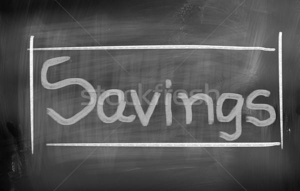 Savings Concept Stock photo © KrasimiraNevenova