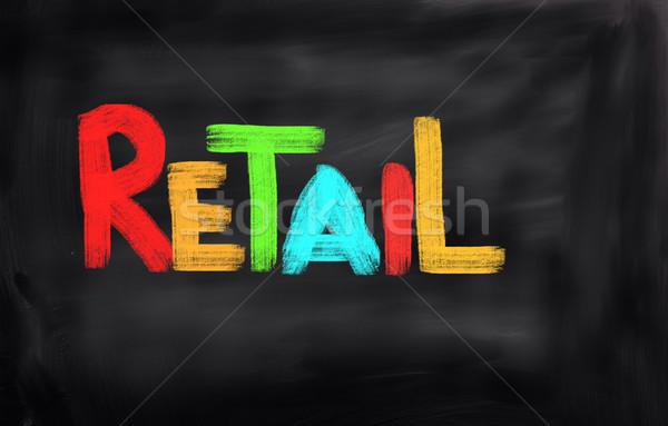 Detailhandel mode model winkel markt kleding Stockfoto © KrasimiraNevenova