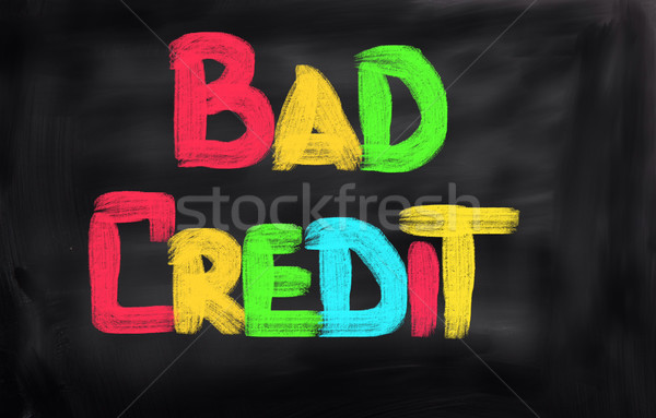 Bad Credit Concept Stock photo © KrasimiraNevenova