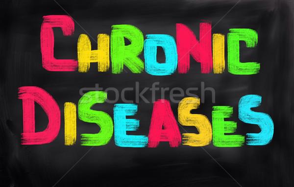 Chronic Disease Concept Stock photo © KrasimiraNevenova
