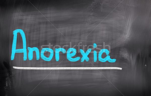 анорексия медицинской тело плохо здравоохранения подробность Сток-фото © KrasimiraNevenova