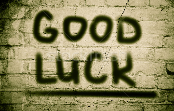 Good Luck Concept Stock photo © KrasimiraNevenova