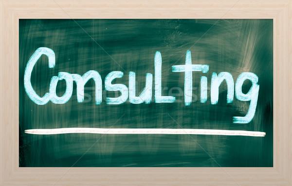 Consulting Concept Stock photo © KrasimiraNevenova