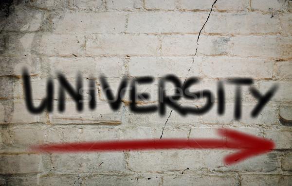 University Concept Stock photo © KrasimiraNevenova