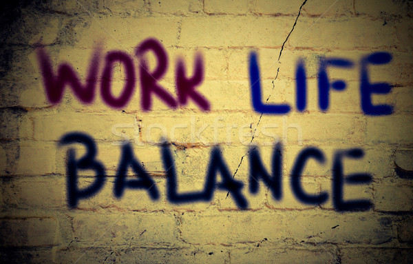 Work Life Balance Concept Stock photo © KrasimiraNevenova