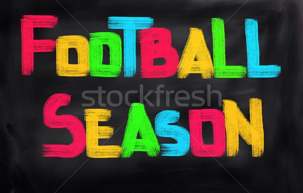 Stock photo: Football Season Concept
