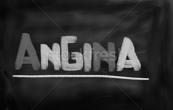 Angina Concept Stock photo © KrasimiraNevenova