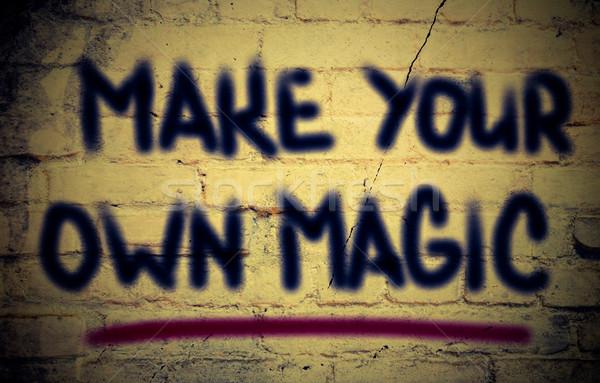 Make Your Own Magic Concept Stock photo © KrasimiraNevenova