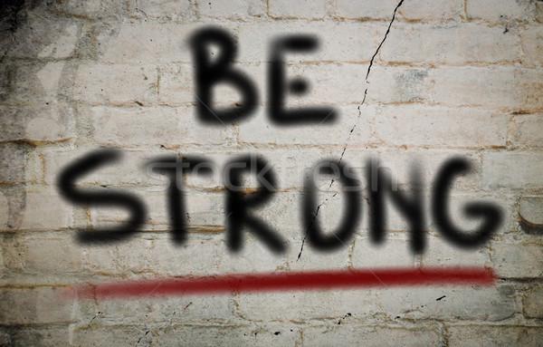 強い 筋 成功 図面 コンセプト 健康 ストックフォト © KrasimiraNevenova
