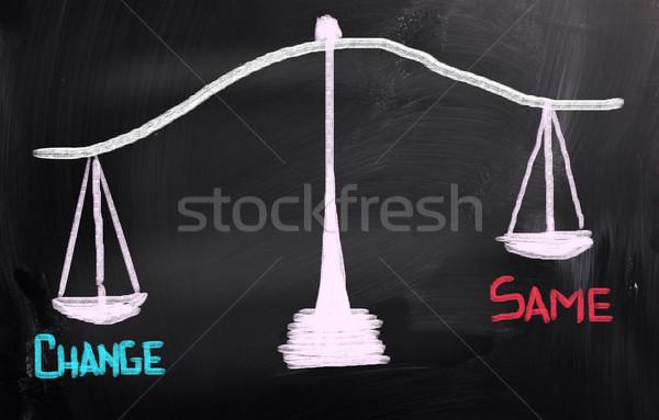 Change Concept Stock photo © KrasimiraNevenova
