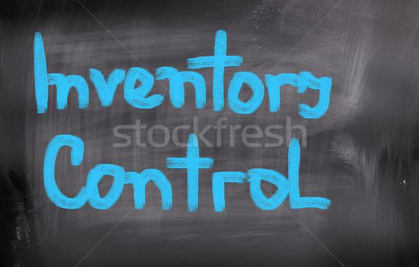 Inventaire contrôle fond enseignants temps chaîne Photo stock © KrasimiraNevenova