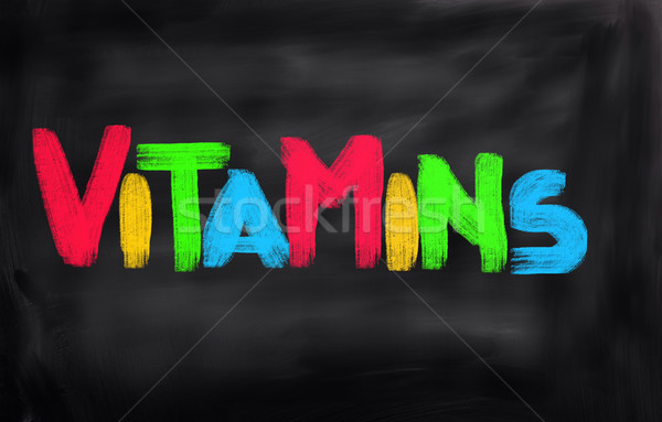 Vitamins Concept Stock photo © KrasimiraNevenova