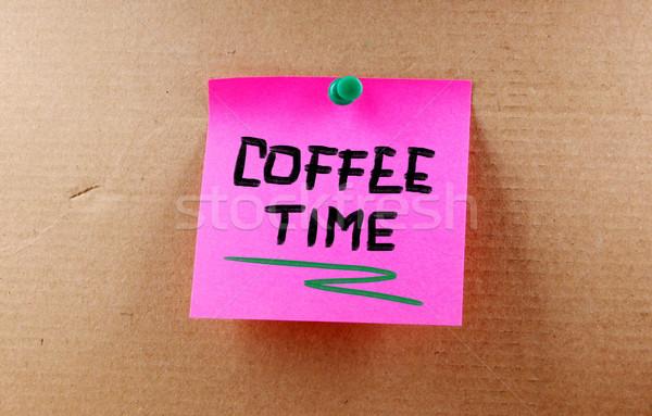 Coffee Time Concept Stock photo © KrasimiraNevenova
