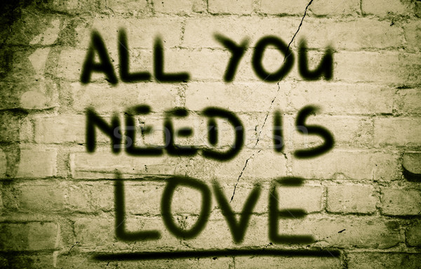 All You Need Is Love Concept Stock photo © KrasimiraNevenova