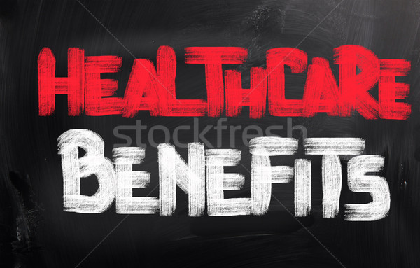 Healthcare Benefits Concept Stock photo © KrasimiraNevenova
