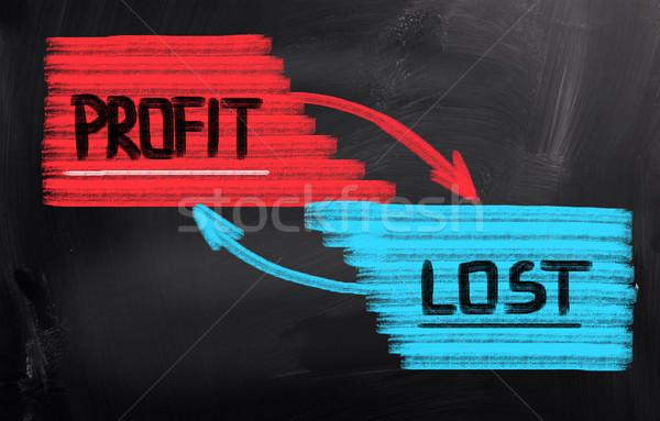 Profit Concept Stock photo © KrasimiraNevenova