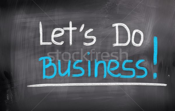 üzlet munka oktatás állás cég marketing Stock fotó © KrasimiraNevenova