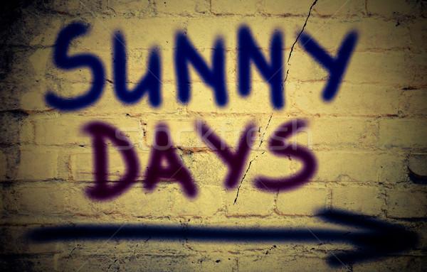 Sunny Days Concept Stock photo © KrasimiraNevenova