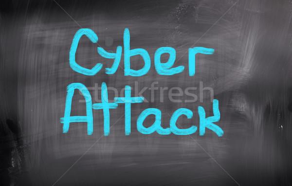 Atacar internet segurança digital crime segurança Foto stock © KrasimiraNevenova