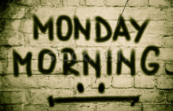 Monday Morning Concept Stock photo © KrasimiraNevenova