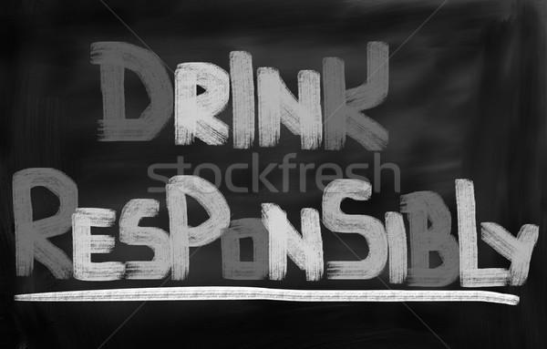 Drink Responsibly Concept Stock photo © KrasimiraNevenova