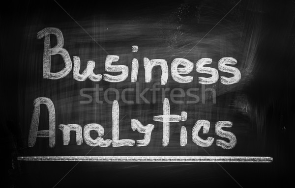 Business Analytics Concept Stock photo © KrasimiraNevenova