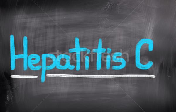 Hepatitis C Concept Stock photo © KrasimiraNevenova