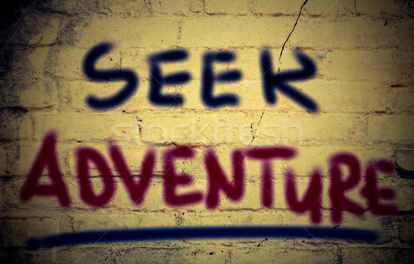 Seek Adventure Concept Stock photo © KrasimiraNevenova