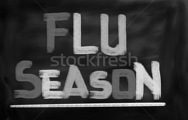 Flu Season Concept Stock photo © KrasimiraNevenova