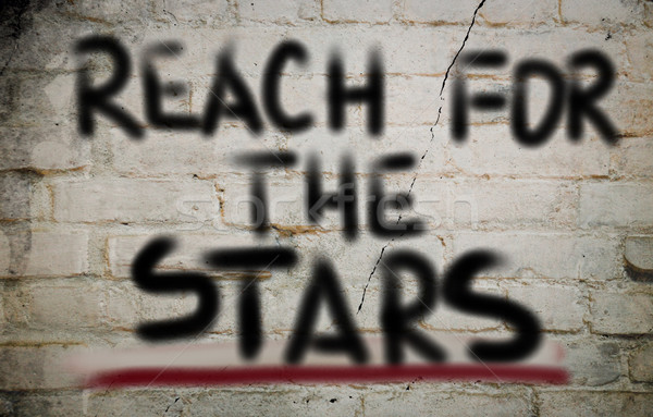 Reach For The Stars Concept Stock photo © KrasimiraNevenova