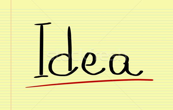 Idea Concept Stock photo © KrasimiraNevenova