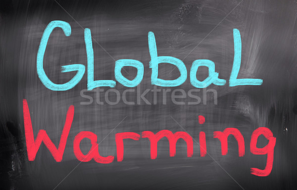 Climate Change Concept Stock photo © KrasimiraNevenova
