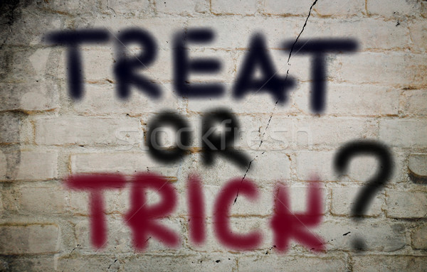 Treat Or Trick Concept Stock photo © KrasimiraNevenova