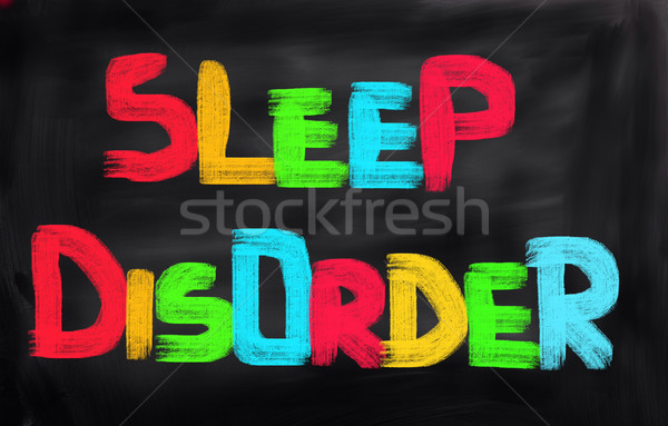 Sleep Disorder Concept Stock photo © KrasimiraNevenova