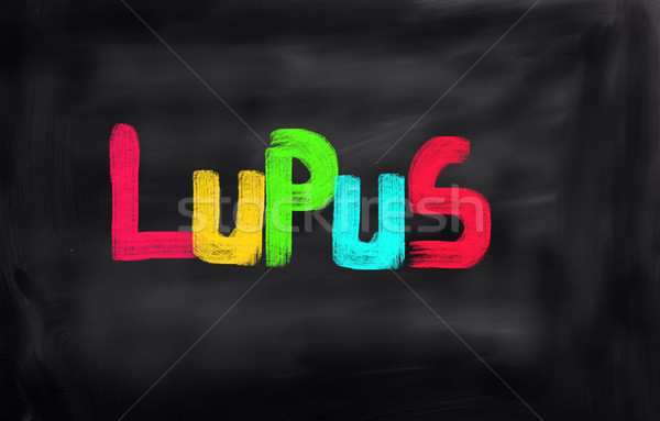Lupus Concept Stock photo © KrasimiraNevenova