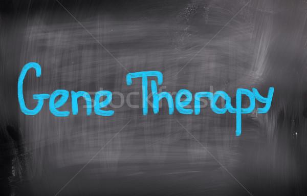 Gene terapia medico medicina chimica cell Foto d'archivio © KrasimiraNevenova