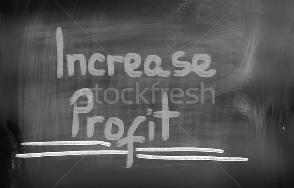 Increase Profit Concept Stock photo © KrasimiraNevenova