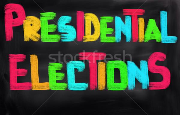 Verkiezingen gegevens juridische stemming politiek USA Stockfoto © KrasimiraNevenova