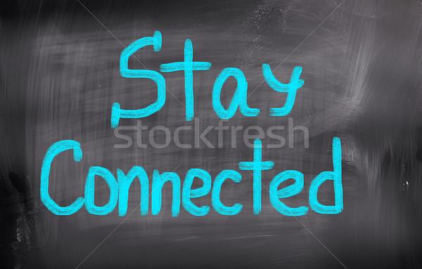 Blijven technologie werken studie opleiding succes Stockfoto © KrasimiraNevenova