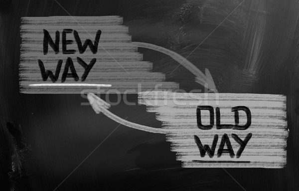 New Way Concept Stock photo © KrasimiraNevenova