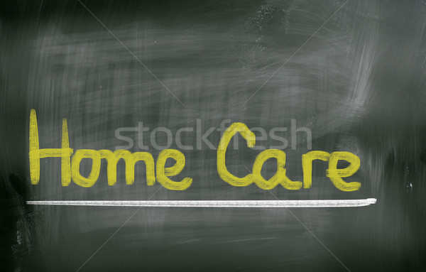 Home Care Concept Stock photo © KrasimiraNevenova