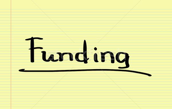 Funding Concept Stock photo © KrasimiraNevenova